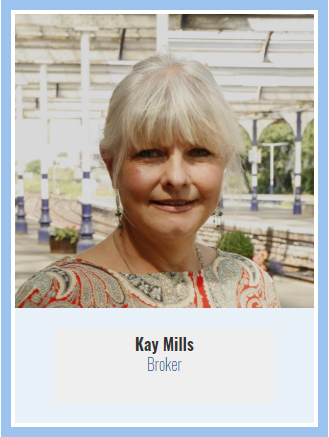 Business Card - Kay Mills